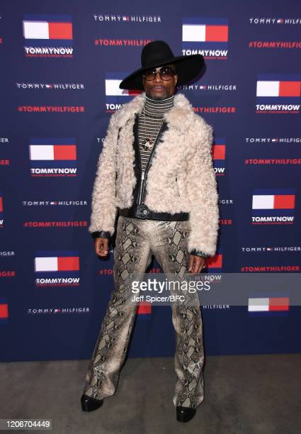 Billy Porter attends the TommyNow show during London Fashion Week February 2020 at the Tate Modern on February 16 2020 in London England