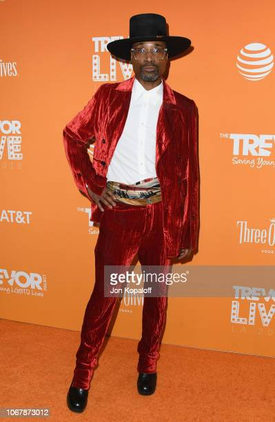 Billy Porter attends The Trevor Project's 2018 TrevorLIVE LA Gala at The Beverly Hilton Hotel on December 2 2018 in Beverly Hills California