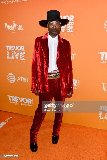 Billy Porter attends the Trevor Project's TrevorLIVE LA 2018 at The Beverly Hilton Hotel on December 3 2018 in Beverly Hills California