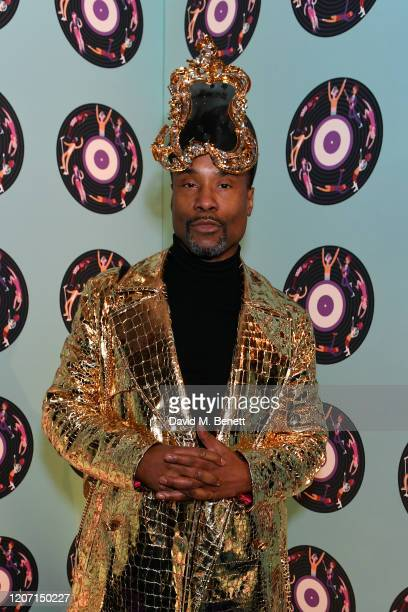 Billy Porter attends the Universal Music BRIT Awards afterparty 2020 hosted by Soho House PATRÓN at The Ned on February 18 2020 in London England