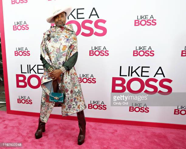 Billy Porter attends the world premiere of Like A Boss at SVA Theater on January 07 2020 in New York City