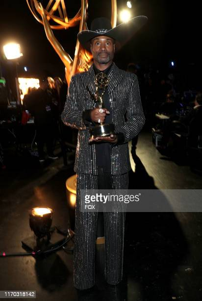 Billy Porter behind the scenes during the 71ST PRIMETIME EMMY® AWARDS airing live from the Microsoft Theater at LA LIVE in Los Angeles on Sunday...
