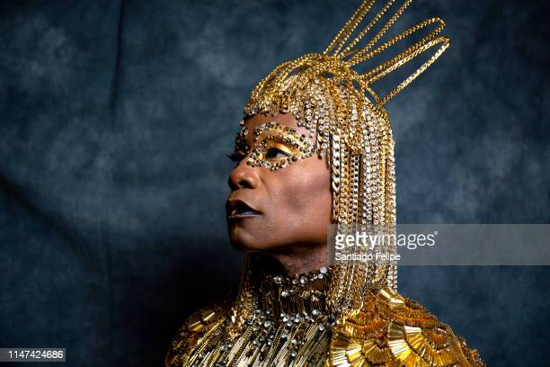 Billy Porter dresses for the 2019 Met Gala celebrating camp on May 06 2019 in New York City