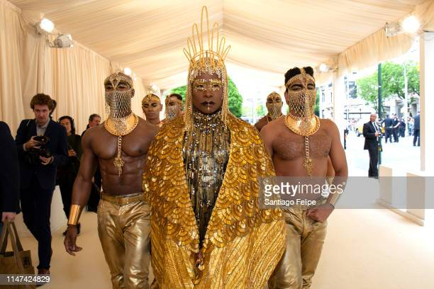 Billy Porter is dressed and ready for The 2019 Met Gala Celebrating Camp on May 06 2019 in New York City