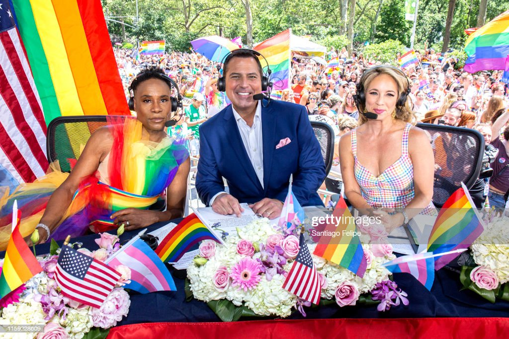 Billy Porter Gets Ready For WorldPride NYC 2019 : News Photo