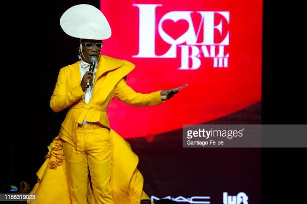 Billy Porter onstage during the Love Ball III at Gotham Hall on June 25 2019 in New York City