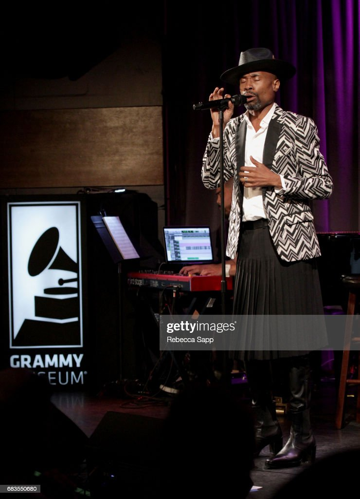 Billy Porter at The GRAMMY Museum on May 15, 2017 in Los Angeles, California.