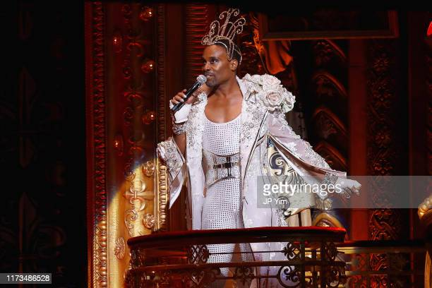 Billy Porter performs on the runway for The Blonds x Moulin Rouge The Musical during New York Fashion Week The Shows on September 09 2019 in New York...