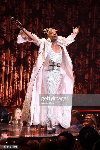 Billy Porter performs on the runway for The Blonds x Moulin Rouge! The Musical during New York Fashion Week: The Shows on September 09, 2019 in New...