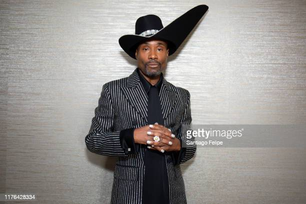 Billy Porter prepares For The 71st Emmy Awards on September 22, 2019 in Los Angeles, California.