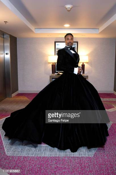 Billy Porter prepares for the 91st Academy Awards at Lowes Hollywood Hotel on February 24 2019 in Hollywood California