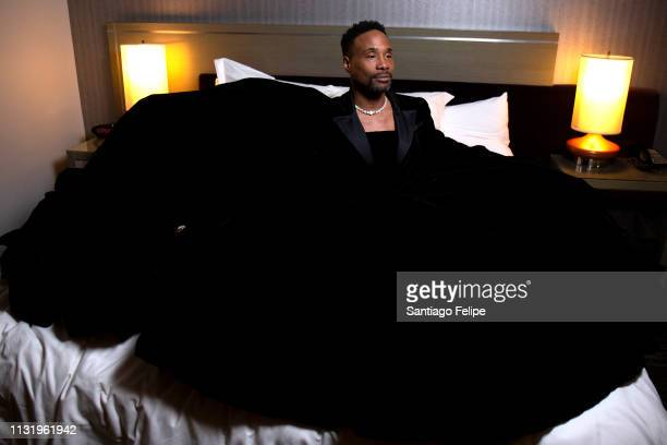 Billy Porter prepares for the afterparties after the 91st Academy Awards at Lowes Hollywood Hotel on February 24 2019 in Hollywood California