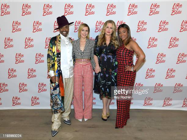 Billy Porter Rose Byrne Jennifer Coolidge Tiffany Haddish attend the Paramount Pictures' Like A Boss Photocall at the Whitby Hotel on December 14...