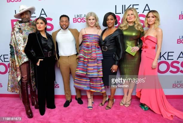 "Billy Porter, Salma Hayek, Jacob Latimore, Caroline Arapoglou, Tiffany Haddish, Jennifer Coolidge and Rose Byrne attend the Paramount Pictures' ""Like..."