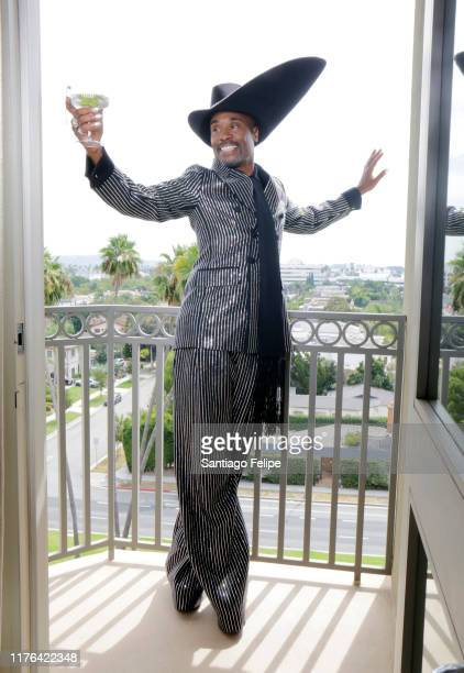 Billy Porter, wearing a suit by Michael Kors Couture and hat by Stephen Jones millinery, gets ready for The 71st Emmy Awards with a marvelous Ketel...