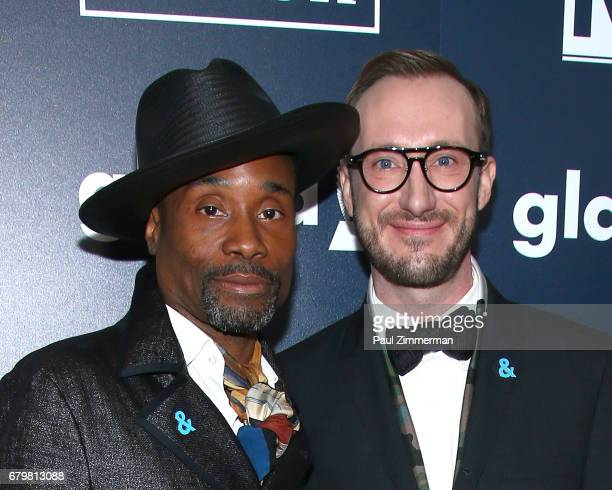 Billy PorterSmith and Adam PorterSmith attend the 28th Annual GLAAD Awards at New York Hilton Midtown on May 6 2017 in New York City
