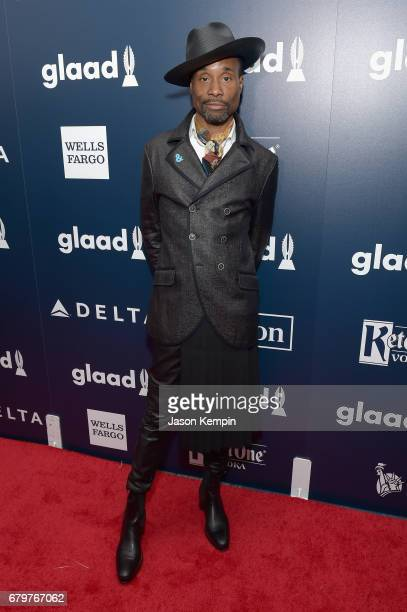 Billy PorterSmith attends 28th Annual GLAAD Media Awards at The Hilton Midtown on May 6 2017 in New York City