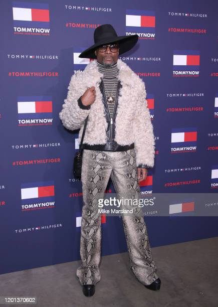 Billy Potter attends the TommyNow Step Repeat during London Fashion Week February 2020 at the Tate Modern on February 16 2020 in London England