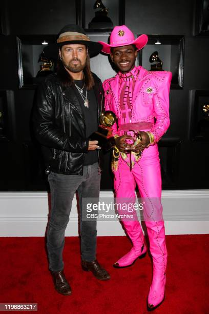 Billy Ray Cyrus and Lil Nas X appear at THE 62ND ANNUAL GRAMMY® AWARDS, broadcast live from the STAPLES Center in Los Angeles, Sunday, January 26th...