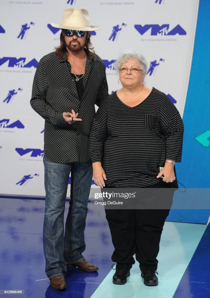 Billy Ray Cyrus and Susan Bro arrive at the 2017 MTV Video Music Awards at The Forum on August 27, 2017 in Inglewood, California.
