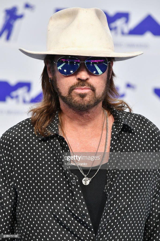 Billy Ray Cyrus attends the 2017 MTV Video Music Awards at The Forum on August 27, 2017 in Inglewood, California.