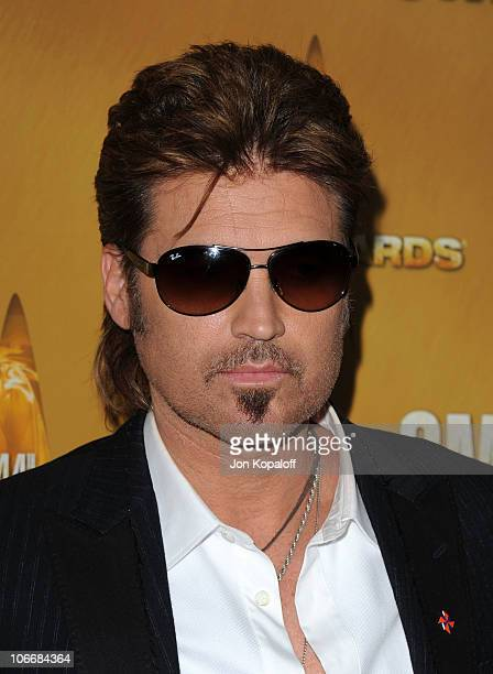 Billy Ray Cyrus attends the 44th Annual CMA Awards at the Bridgestone Arena on November 10 2010 in Nashville Tennessee