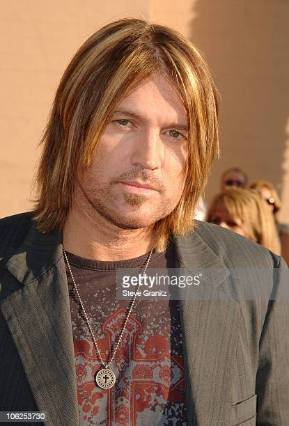 Billy Ray Cyrus during 2006 American Music Awards Arrivals at Shrine Auditorium in Los Angeles California United States