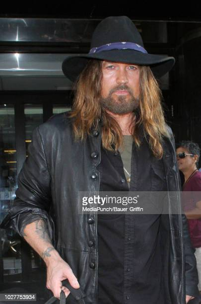 Billy Ray Cyrus is seen on September 06 2018 in New York City