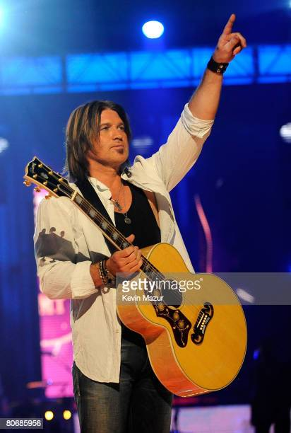 Billy Ray Cyrus onstage during the 2008 CMT Music Awards at the Curb Event Center at Belmont University on April 14, 2008 in New York City.
