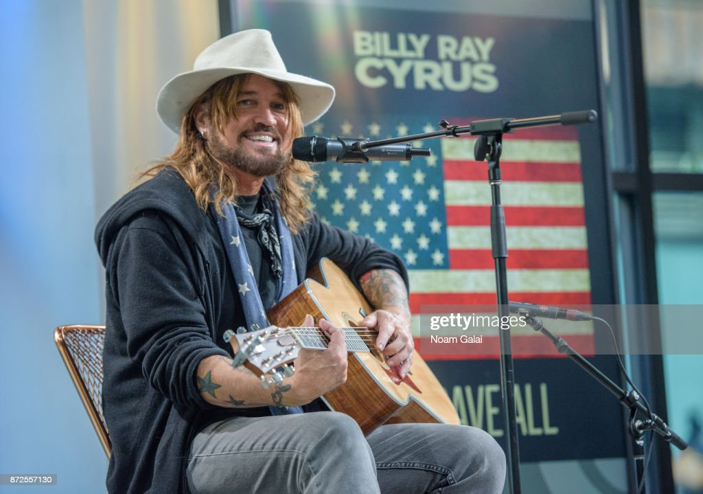 Billy Ray Cyrus performs at Build Studio on November 10, 2017 in New York City.