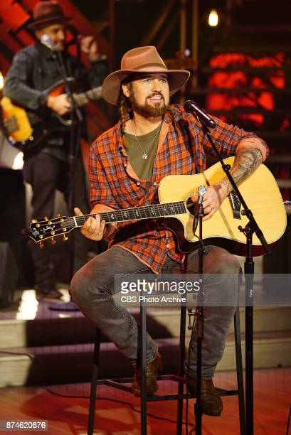 Billy Ray Cyrus performs live on 'The Talk' Monday November 13 2017 on the CBS Television Network