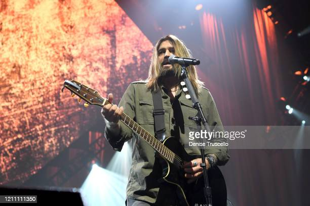 Billy Ray Cyrus performs onstage at the 24th annual Keep Memory Alive 'Power of Love Gala' benefit for the Cleveland Clinic Lou Ruvo Center for Brain...