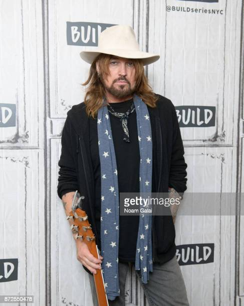 Billy Ray Cyrus visits Build Series to discuss 'Set The Record Straight' at Build Studio on November 10 2017 in New York City