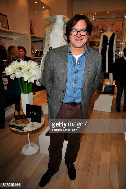 Billy Reid attends Ann Taylor Flatiron Store Opening at Ann Taylor NYC on December 2 2010 in New York City
