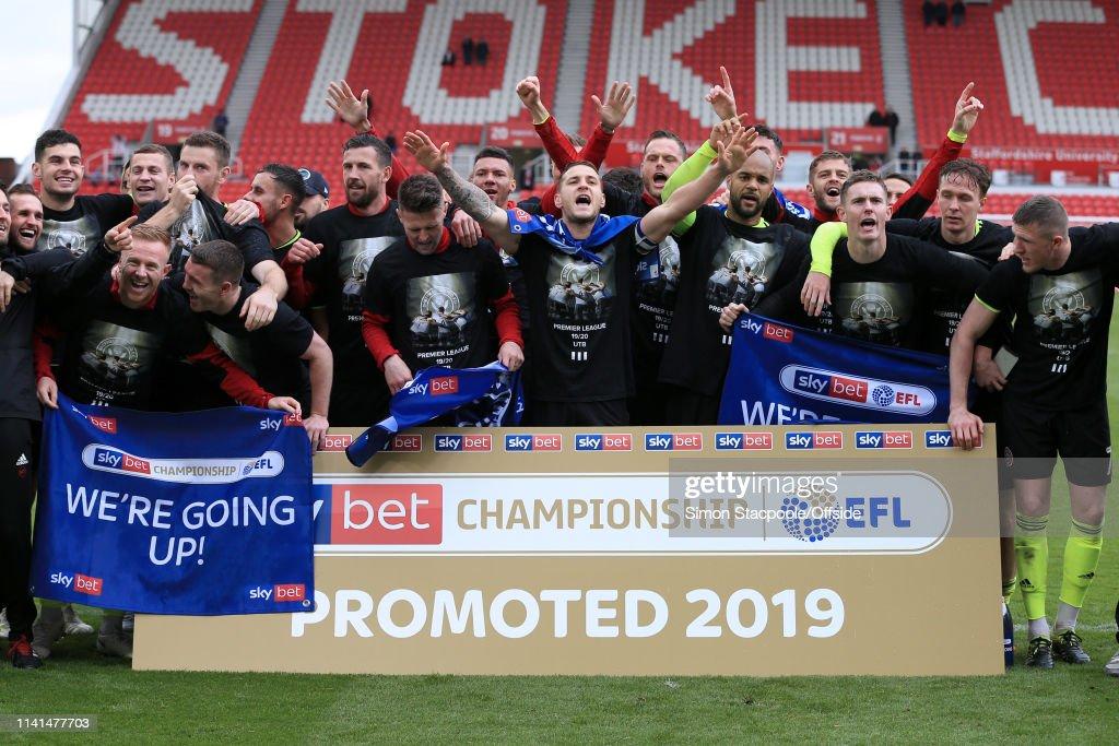 Stoke City v Sheffield United - Sky Bet Championship : ニュース写真