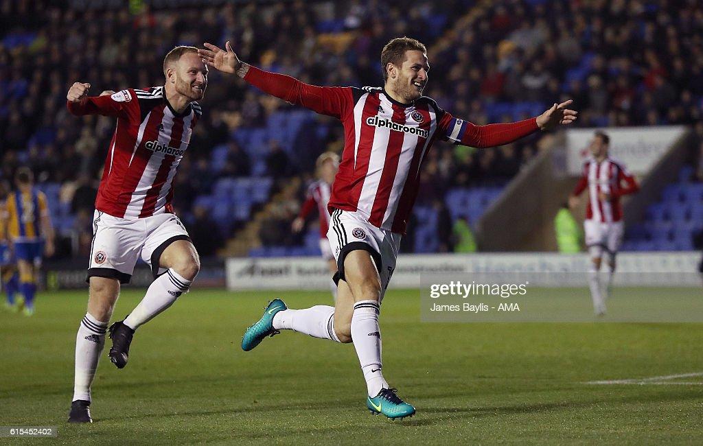 Shrewsbury Town v Sheffield United - Sky Bet League One