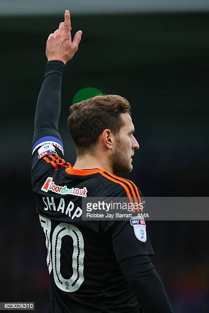 Billy Sharp of Sheffield United during the Sky Bet League One match between Chesterfield and Sheffield United at Proact Stadium on November 13 2016...
