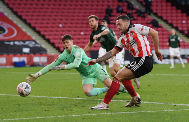 GBR: Sheffield United v Plymouth Argyle: The Emirates FA Cup Fourth Round