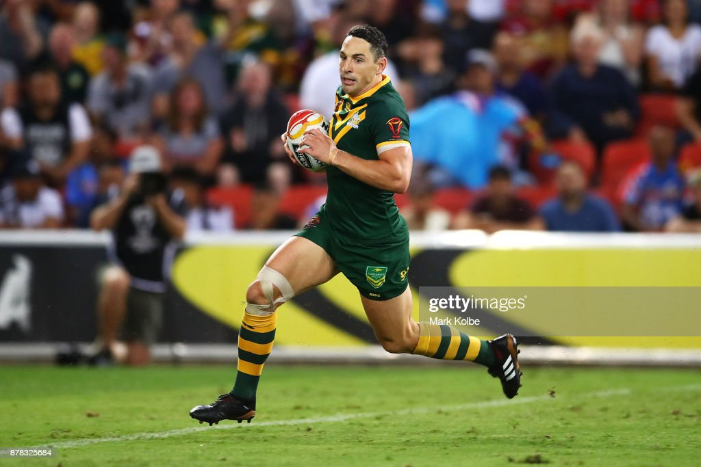 2017 Rugby League World Cup - Semi Final 1: Australia v Fiji : News Photo