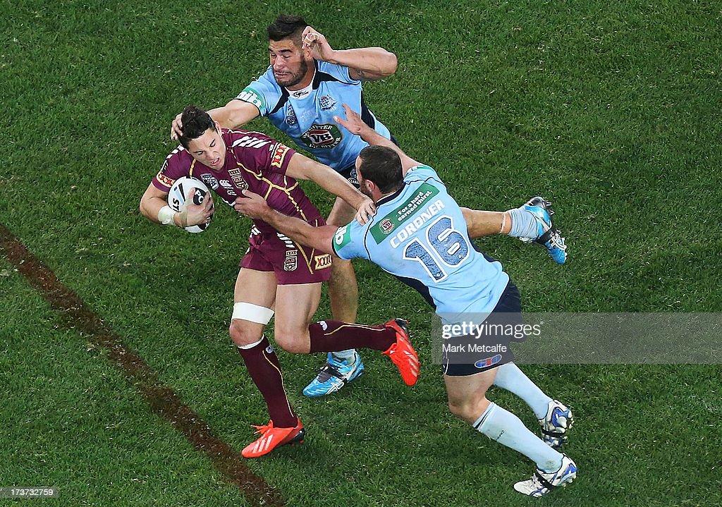 State Of Origin III - NSW v QLD : News Photo