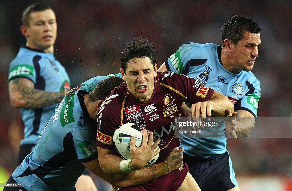 NSW v QLD - State Of Origin: Game 2 : News Photo