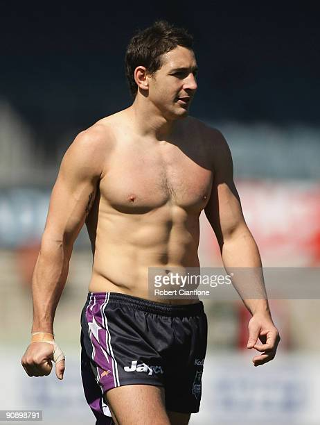 Billy Slater of the Storm is seen during a Melbourne Storm NRL training session at Visy Park on September 18 2009 in Melbourne Australia