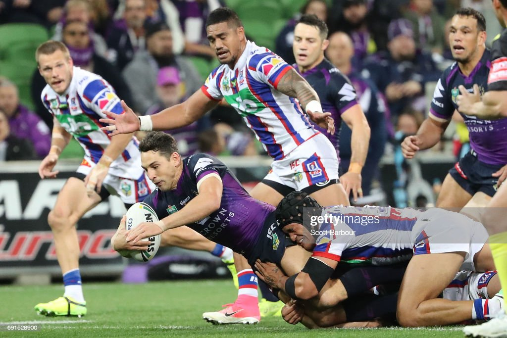NRL Rd 13 - Storm v Knights : News Photo