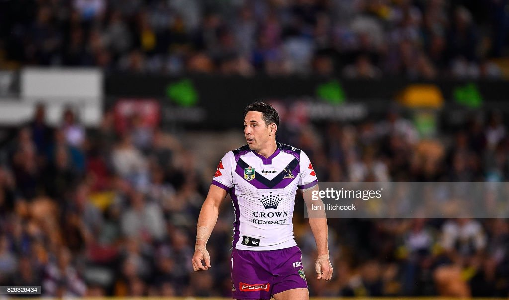 NRL Rd 22 - Cowboys v Storm : News Photo