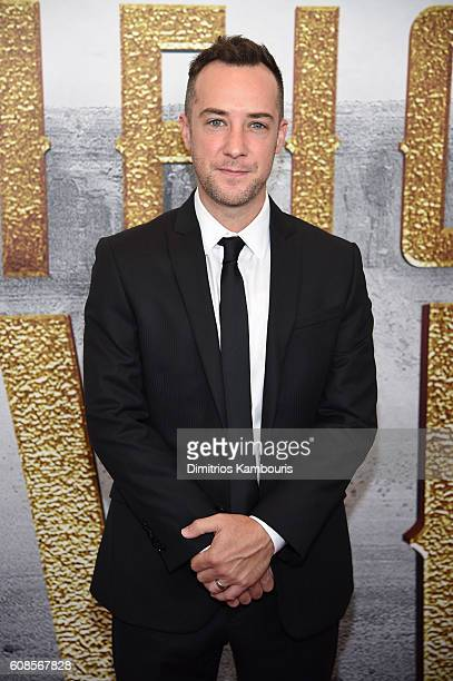 Billy Slaughter attends The Magnificent Seven premiere at Museum of Modern Art on September 19 2016 in New York City