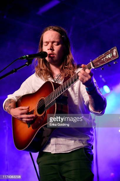 Billy Strings performs onstage during AmericanaFest 2019 on September 11 2019 in Nashville Tennessee