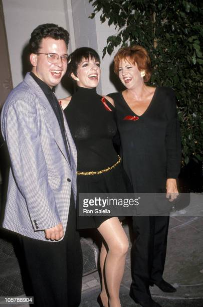 Billy Stritch Liza Minnelli and Lorna Luft during Stepping Out Los Angeles Premiere at Paramount Studios Theater in Hollywood California United States