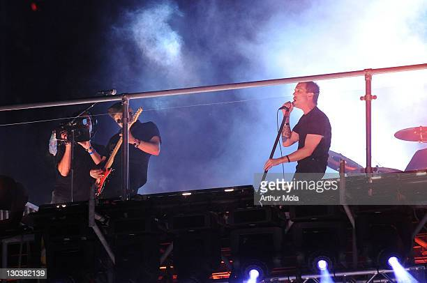 Billy Talent perform at the 20th Annual MuchMusic Video Awards at the MuchMusic HQ on June 21, 2009 in Toronto, Canada.