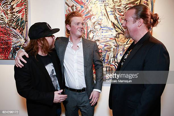 Billy the ArtistLeon Lowentraut and Gregory de la Haba at Bodega de la Haba Presents in Association with Edelman Arts German Artist Leon Lowentraut...