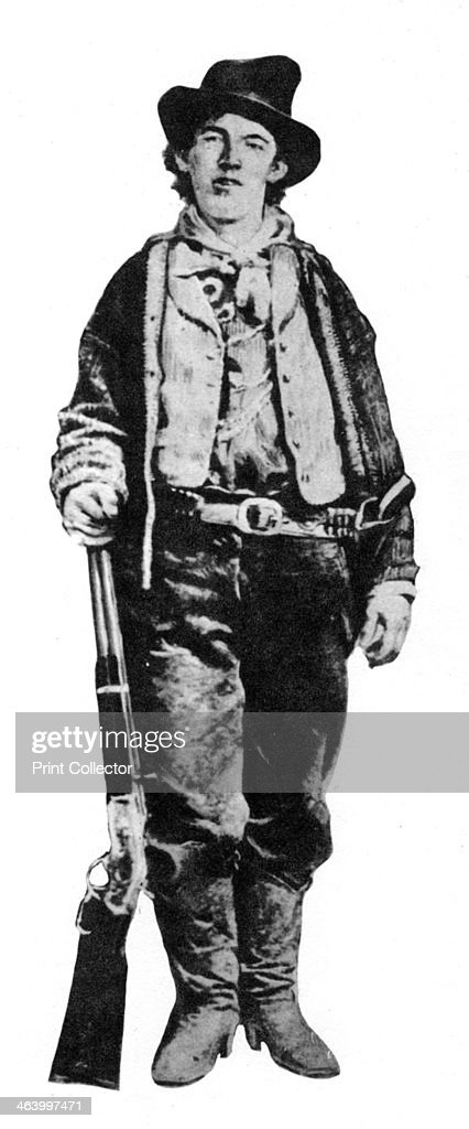 Billy the Kid, American gunman and outlaw, c1877-1881 (1954). : News Photo